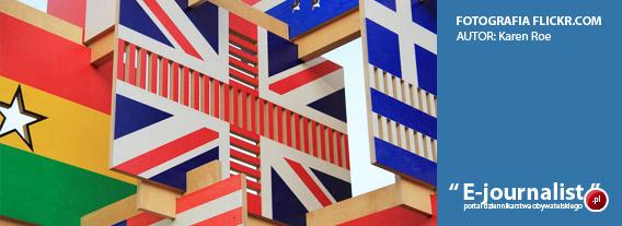 Fotografia: flaga Wielkiej Brytanii